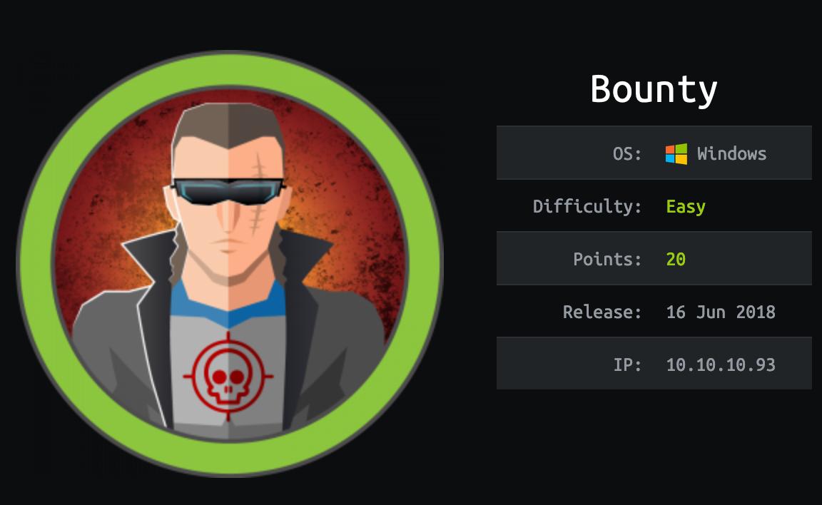 hackthebox bounty