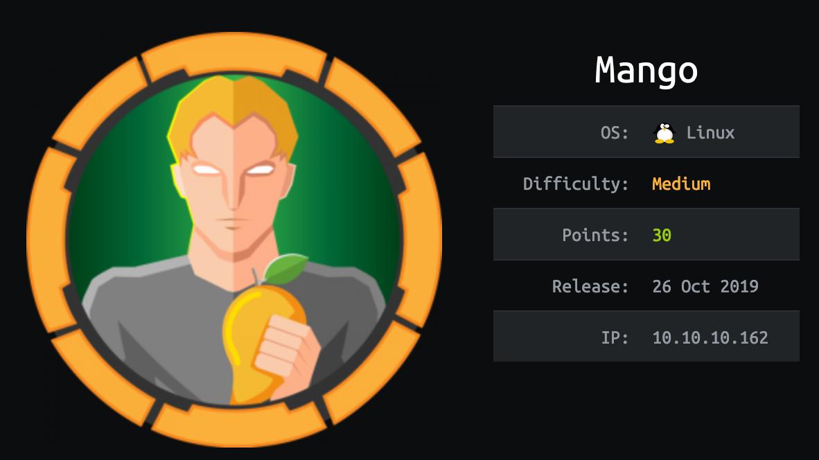 hack the box mango without metasploit